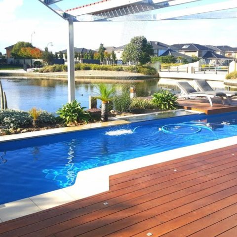 "11m fibreglass lap pool for Sanctuary Lakes home outdoor entertainment area"" is locked 11m fibreglass lap pool for Sanctuary Lakes home outdoor entertainment area"